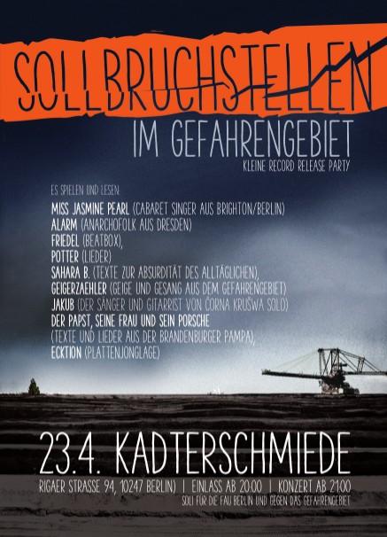 Geigerzähler Record Release »Sollbruchstellen«